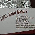 Photo de Little Hanoi Hostel 2