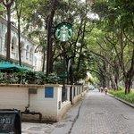Starbucks Shamian Island!
