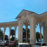 Colonnade at the Promenade of Sukhumi