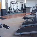 Gym  facilities available at Hotel, complete with sauna and sunbed