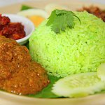 Rendang Chicken with Pandan Rice