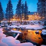 Hotel Talisa Exterior Winter Gore Creek.