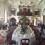 A fancy dining room (understatement!)
