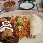 I don't see ranchero sauce, do you? Who likes a dry enchilada?