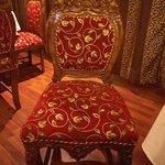 Beautifully ornate chairs