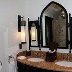 The bath room