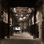 The souk market hall way
