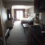 Very spacious and comfortable layout. The beds are great and the room was quiet