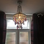 Luxurious lampshade (???) Obscured glass