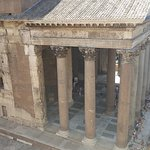 Room with a view (Pantheon, erected 118 a.c.)