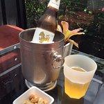 Beer at the Pool Bar