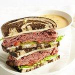 Roast Beef and Havarti Sandwich