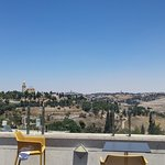View from the balcony - Facing Mt. of Olives