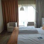 Doppelzimmer mit Landblick