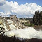 Спуск водопада