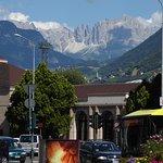 Bozen: Blick auf die nahegelegenen Berge