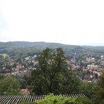 udsigt fra terrassen