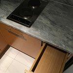 Die leere Küche!