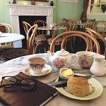 Pot of Tea & Plain Scone.