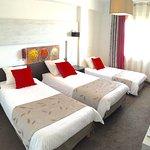 Chambre triple VICTORIA HOTEL PERPIGNAN