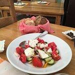 Best Greek Salad, ever.