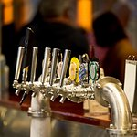 Beer & cider on tap at The Clubhouse