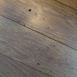 Extremely dirty wooden floor