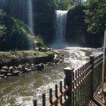 Minnehaha Waterfall - View from bottom of stairs