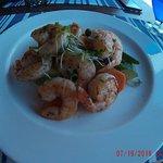Shrimp Scampi with veggies