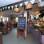 Our tearoom has fresh tea and coffee, breakfast, lunches, regular and gluten-free cakes and trea
