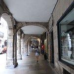 Eingang in der Rua Vilar