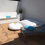 Notre terrasse : moderne et calme