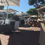 Le restaurant et sa terrasse