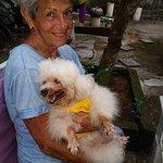 Granny  with Lady Salsa at Warung Saya