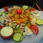 Salade poulet tandoori