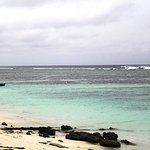 Pantai di pulau Hulhumale