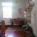 A nice lounge area