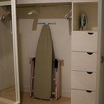 Closet in Bathroom