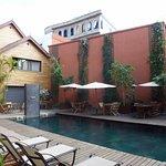 Photo de Hotel Sakamanga