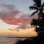 Sunset in Hawaii. Unbelievable!