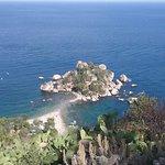 La isola desde Taormina