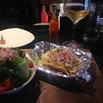 fish tacos and Sauv Blanc!