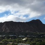 View of Diamond Head State Monument from Aston Waikiki