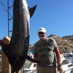 350 lb. Blue Marlin