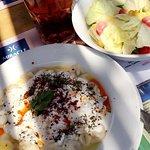 Tasty ravioli in the miracle restaurant