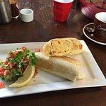 The breakfast burrito AKA Mexican Breakfast