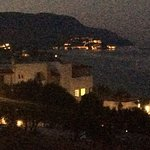 Spinalonga lit up view from my balcony