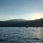 Sunset kayaking before the star tour!