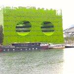 le bâtiment Euronews