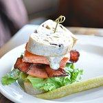 Salmon Sandwich! Tasty!